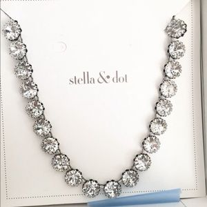 Stella and Dot Vintage Crystal Necklace